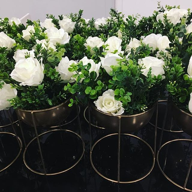 Our stunning centerpieces went out in bulk this weekend! Hire them for your next event only $10 each