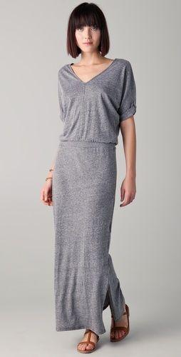 grey jersey maxi dressC C California, Grey Jersey, Maxi Dresses, Tshirt Dresses, Dresses Thestylecurecom, V Neck Maxis Dresses, Casual Maxis, Jersey Maxis, Grey Dresses