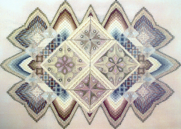 Needlepoint Charted Designs WURTH Prelude to Peace