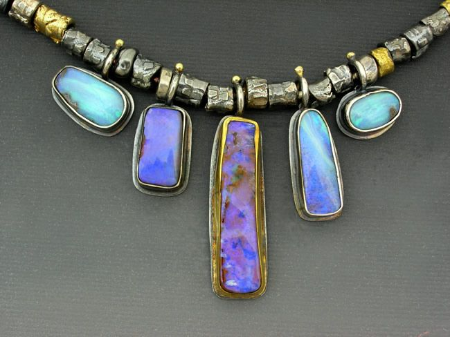 """Nothing beats Opal to play with when you imagine possibilities for jewelry with """"WOW""""."""