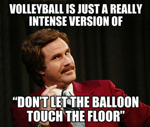 Volleyball is...