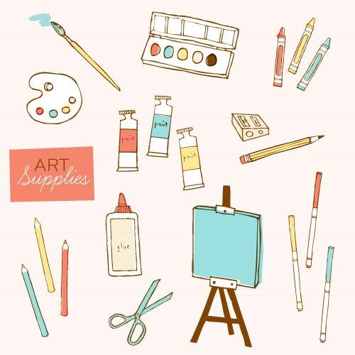 art supplies clip art - photo #5