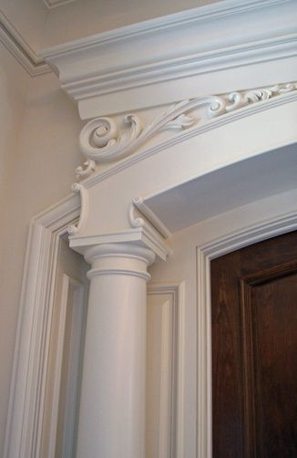 Over 80 Different Moulding And Millwork Design Ideas. Http://pinterest.com