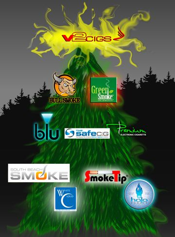 """E cigarette reviews by long time electronic cigarette smokers. Sorted in an easy to follow """"tree."""" Read about the top e-cigarettes of 2012."""