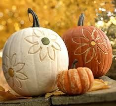 fall decor idea: Pumpkin Decoration, Fall Pumpkin, Fall Decoration, Pumpkin Idea, Decoration Pumpkin, Flower Power, Pumpkin Carvings, Carvings Pumpkin, Fall Flower