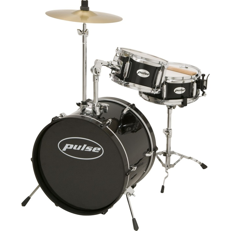 3Piece Kid/Junior Drum Set Junior drum set, Drum set, Drums