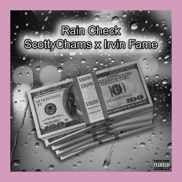 Rain Check feature out now with @scottycham and @yankeeirvinfame    #scottychams #music