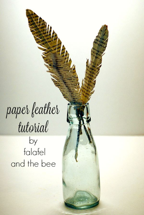how to make paper feathers                                                                                                                                                                                 More