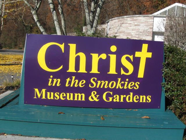 Pin by marsha hubler on pigeon forge gatlinburg and - Christ in the smokies museum and gardens ...
