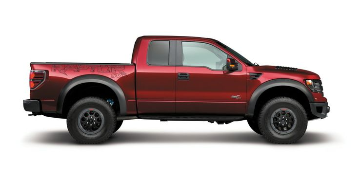 Ford Raptor F-150 high performance trucks