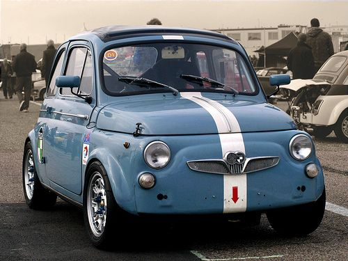 it is actually a Steyr Puch not a Fiat 500 Abarth as originally tagged by original pinner....