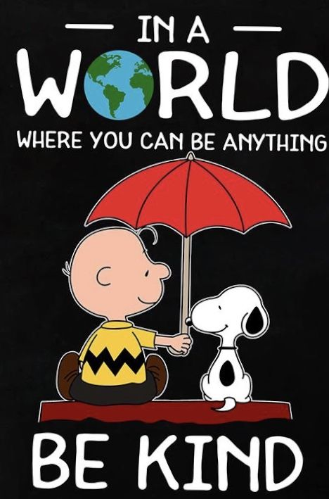 Charlie Brown and Snoopy have it right.#ad