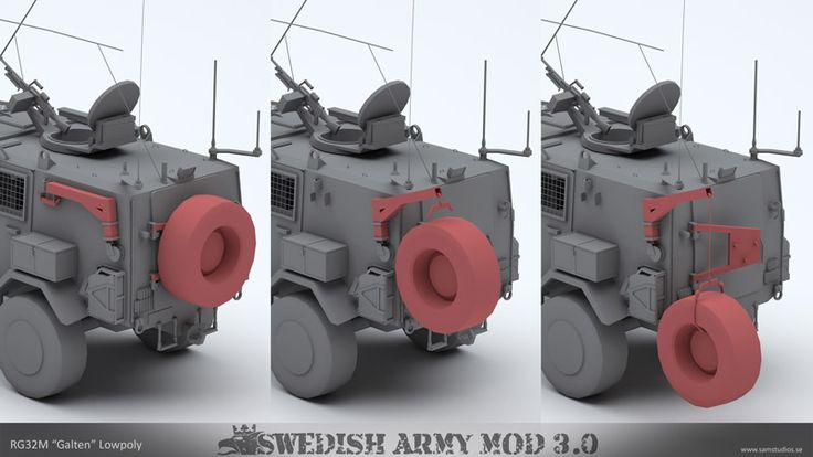Info - Swedish Army Mod 3 (SAM) (@sam3) - Arma 3 - Main withSIX
