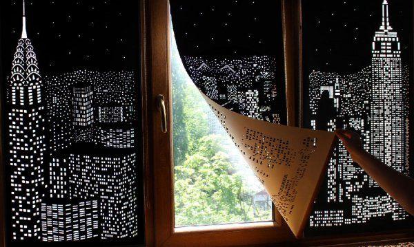 M s de 25 ideas incre bles sobre cortinas opacas en for Cortinas opacas blancas