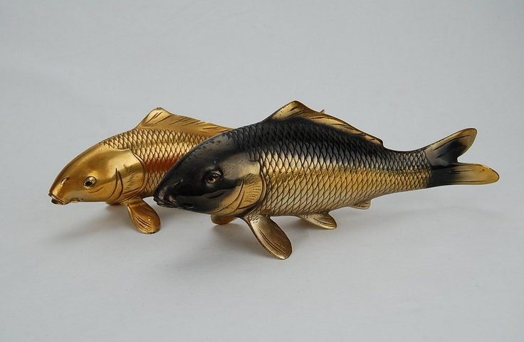 17 best images about pleasing forms on pinterest late for Koi fish metal art