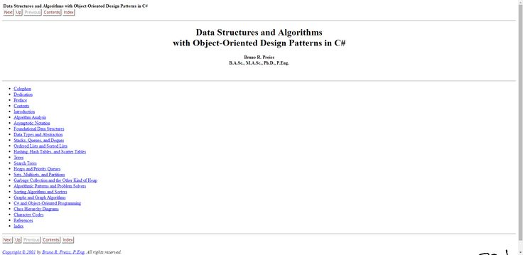 Data Structures and Algorithms with Object-Oriented Design Patterns in C