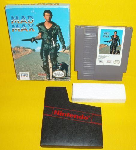 NES-Mad-Max-Nintendo-Complete-w-game-Box-rare-Super-CIB-Boxed-MadMax-Gas-Desert