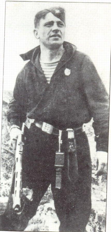 Soviet Naval Infantry sailor