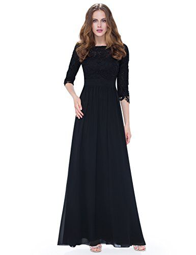 Ever Pretty Women's Lace Long Sleeve Floor Length Evening Dress 08412  http://stylexotic.com/ever-pretty-womens-lace-long-sleeve-floor-length-evening-dress-08412/