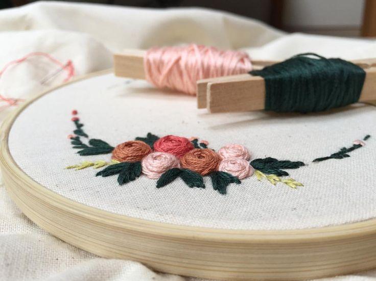 """218 Beğenme, 1 Yorum - Instagram'da @zezehandcraft: """"Good morning 🌤.. . . . . . . . #embroidery #embroider #embroidered #embroideryartist #embroideries…"""""""