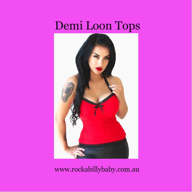 Tops are available at rockabillybaby.com.au