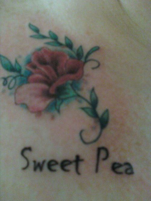 1000 images about tattoos on pinterest for Sweet pea tattoo