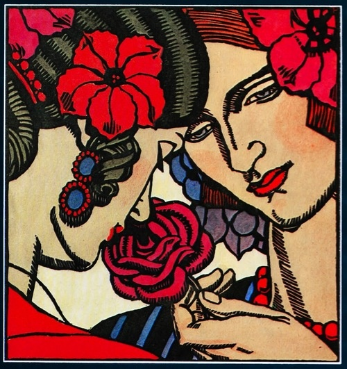 Thea Proctor, The Rose, 1927 (via: intelliblog)