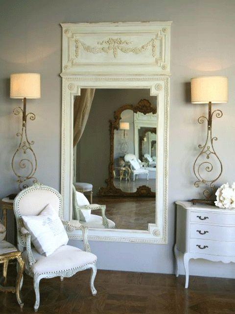 Divine trumeau mirror