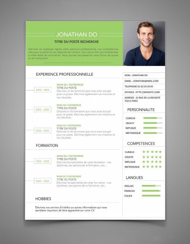 Modele De Cv 6 A Remplir Maxi Cv Resume Design Resume Examples Cv Words