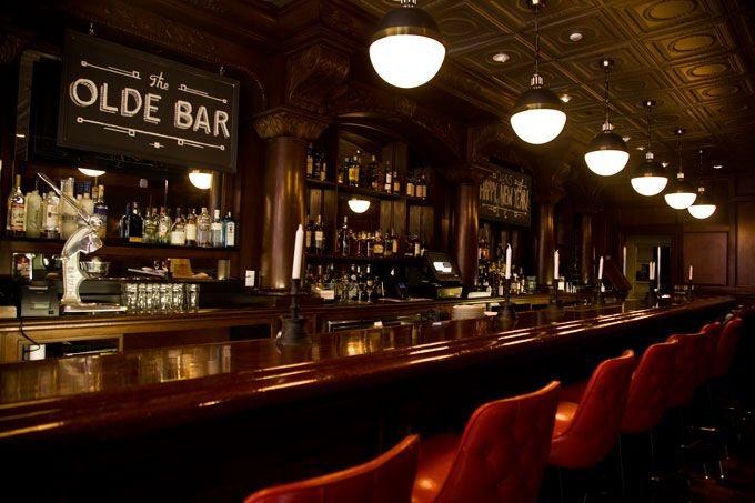 The Garces Group Opens The Olde Bar In The Former Old Original Bookbinder's