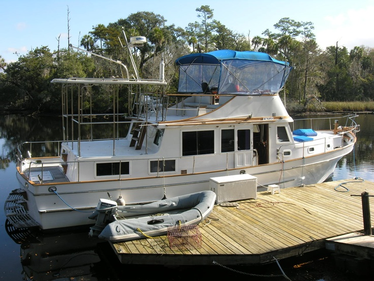 This one is a 44' trawler.  Possible
