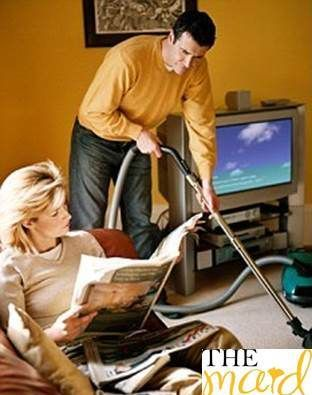 Cleaning During Pregnancy: Do's and Don'ts  Let him do some work