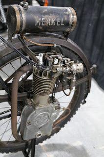 1916 Merkel Motorwheel bought for $30,800 on the 2019 Mecum Las Vegas Motorbike Public sale