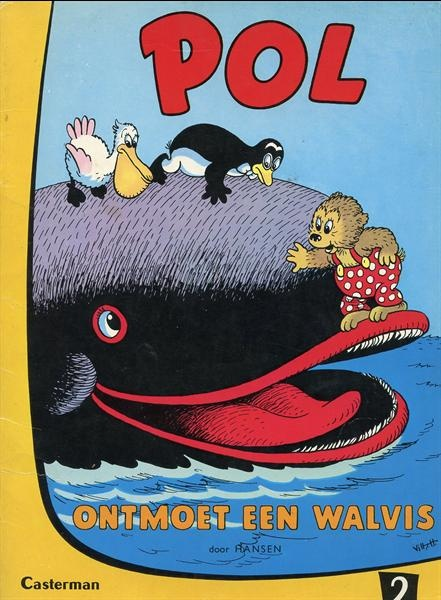 Pol, W en C Hansen De stapel 'Pol' boeken is een immer gekoesterde schat uit mijn kinderjaren.