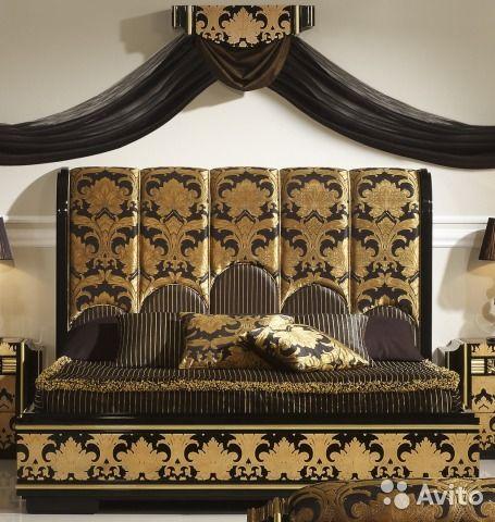 Роскошная кровать с изголовьем. Испания. Solomando— фотография №1