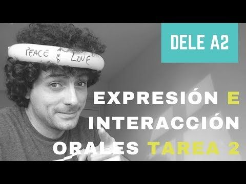 (4) DELE A2- Tarea 2. Descripción: oficina, entrevista de trabajo - YouTube