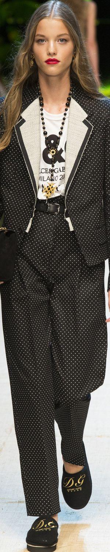Dolce & Gabbana Spring 2017 RTW                                                                                                                                                                                 More