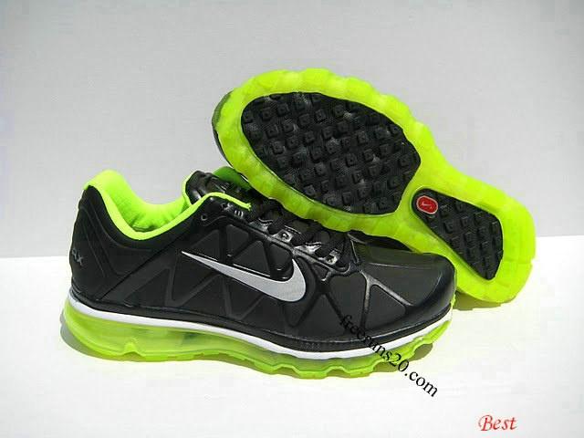 Nike Air Max 2011 Leather Black Volt 429889 001