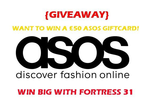 Free Giveaway: £50  Asos  Giftcard   Enter Here: http://www.giveawaytab.com/mob.php?pageid=592265747550742