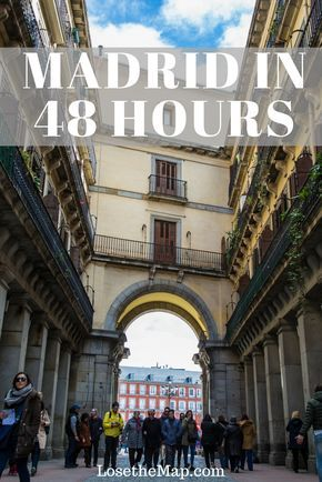 I wrote a guide on how to spend a weekend in #Madrid! If you only have 48 hours in Madrid, but want to soak up as much Spanish food, culture, nightlife, and art as possible, this guide will help you get the best out of the city! Find out the best places to visit, how to see them like a local, and where to go to blend in with local Madrileños. #Spain #travel #guide