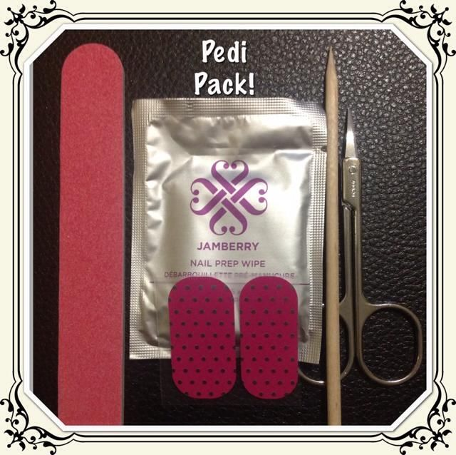 Want one?? Buy 3 Get 1 FREE before OCT 31st and you get a Pedi pack from me!!