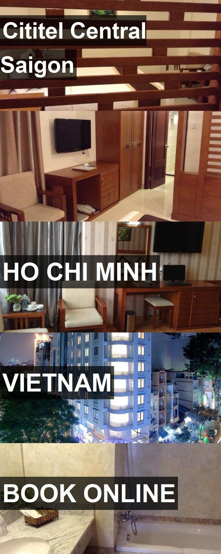 Hotel Cititel Central Saigon in Ho Chi Minh, Vietnam. For more information, photos, reviews and best prices please follow the link. #Vietnam #HoChiMinh #travel #vacation #hotel