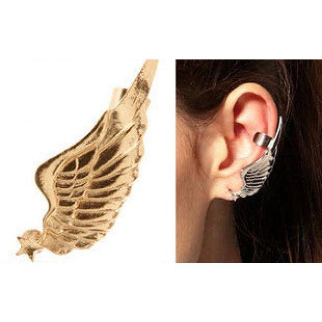 Vintage Angel Wings Single Earrings&Ear Clip for only $9.99 ,cheap Earrings Studs - Jewelry&Accessories online shopping,Vintage Angel Wings Single Earrings&Ear Clip