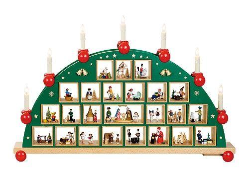 the 24 days before christmas german advent calendar. Black Bedroom Furniture Sets. Home Design Ideas