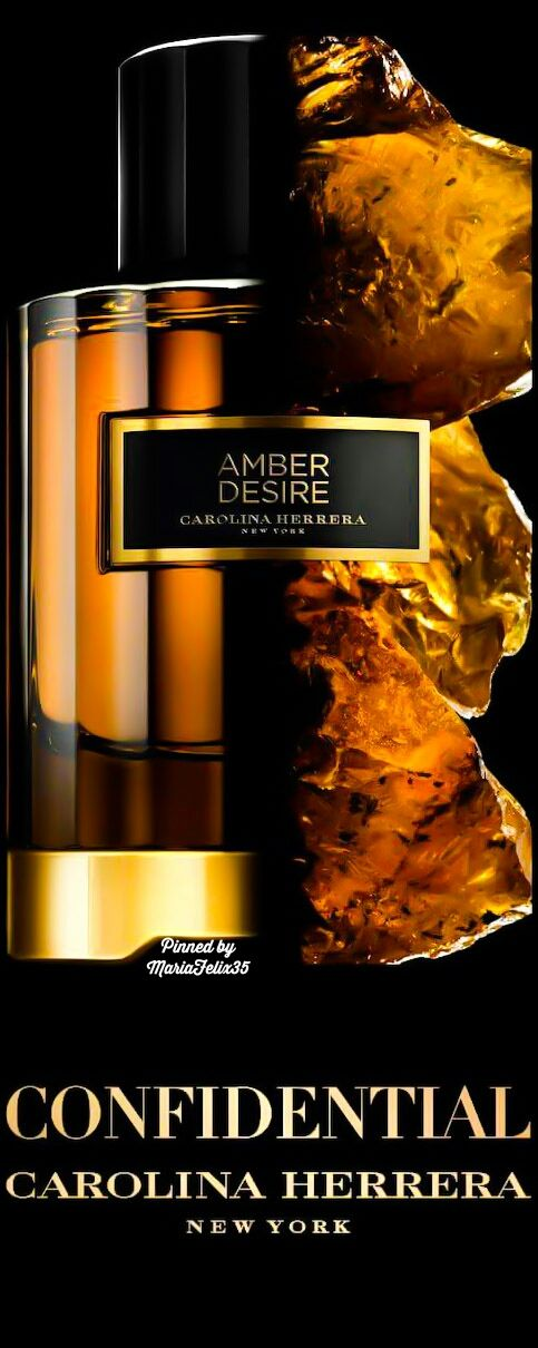 ~Carolina Herrera Amber Desire | House of Beccaria