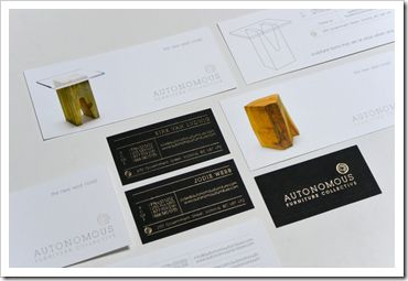 Ivan Meade shares our furniture and his branding and identity work.