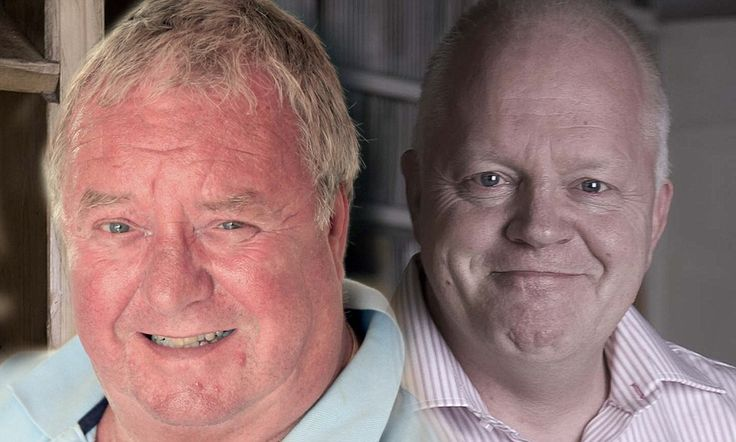 As many as ten per cent of British men are thought to suffer from testosterone deficiency syndrome - including John Savage (left) and Paul Pennington (right).