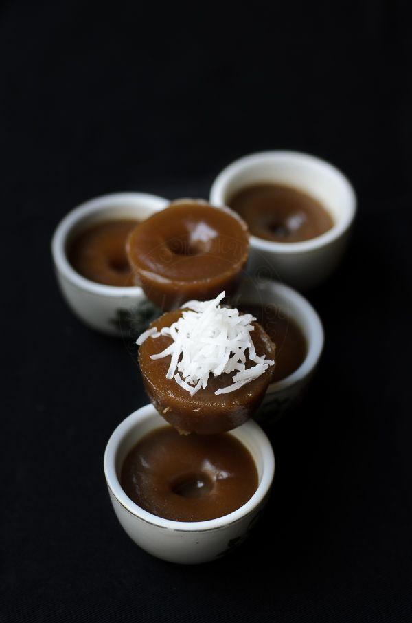 Kuih Lompang/ Kuih Kosui/ Steamed Rice Cakes
