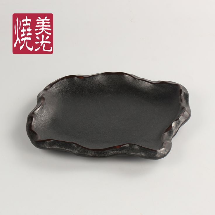 Japanese Cuisine ceramic tableware&stoneware dinner plate E581-P-06026 Size: Length 4 inch,8 inch and 9.5 inch
