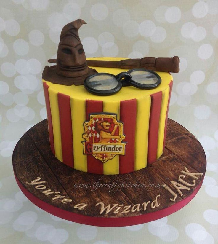 Harry Potter Cake                                                                                                                                                     More